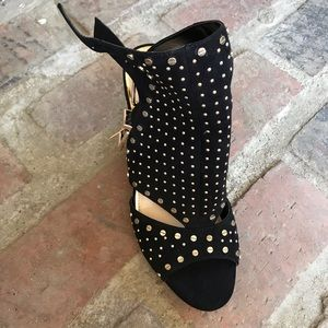 Jessica Simpson Shoes - Suede black heels